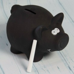 Świnka skarbonka do pisania kredą