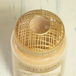 Nakładka złota na dużą świecę Yankee Candle