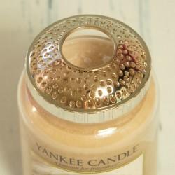 Nakładka srebrna na dużą świecę Yankee Candle