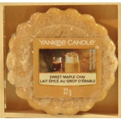 Sweet Maple Chai wosk Yankee Candle