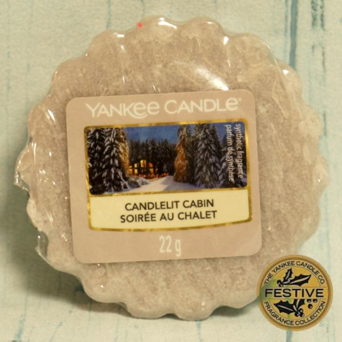 Candlelit Cabin wosk Yankee Candle