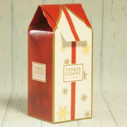 Kartonik świąteczny na dużą świecę Yankee Candle