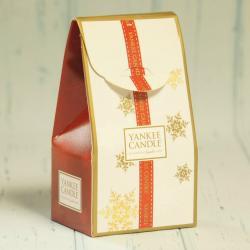 Kartonik świąteczny na mała świecę Yankee Candle