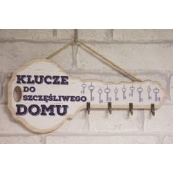 DREWNIANY WIESZAK - KLUCZ