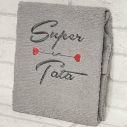Ręcznik Super Tata 50 na 100 cm