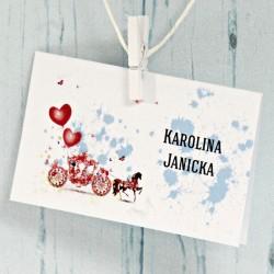 Winietka Sofia, czerwona kareta