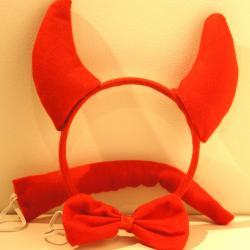 Strój Czerwony diabeł -...
