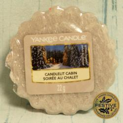 Candlelit Cabin wosk Yankee Candle