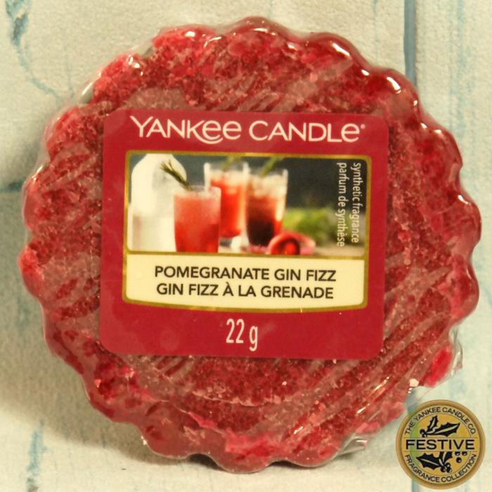 Pomegranate Gin Fizz wosk Yankee Candle