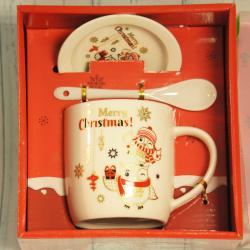 Świąteczny kubek Merry Christmas w kartoniku