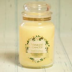 French Vanilla duża świeca Yankee Candle