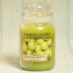Granny Smith, duża świeca Yankee Candle