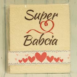 Ręcznik Super Babcia