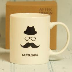 Kubek Gentelman w pudełku