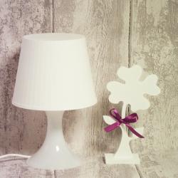 Koniczyna, drewniany kwiat 22 cm