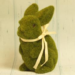 Królik z mchu, zielony