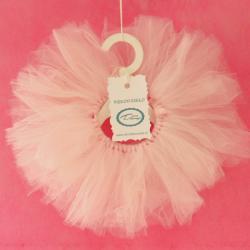 Spódniczka tiulowa, ubranie dla lalki, króliczka, ręcznie szyta, różowa