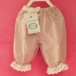 Spodenki, ubranie dla króliczka, ręcznie szyte, fioletowe
