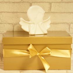 Pudełko prezentowe złote 32/24/16cm