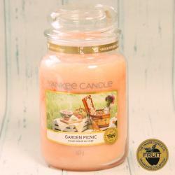 Garden Picnic duża świeca Yankee Candle