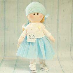 Laleczka ręcznie wykonana, lalka waldorfska, nowoczesne laleczki, laleczki waldorfskie, lalka rękodzieło, donadekoracje.pl