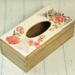 Chustecznik prostokątny, pudełko na chusteczki