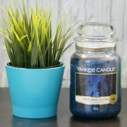 A Night under the stars, duża świeca Yankee Candle