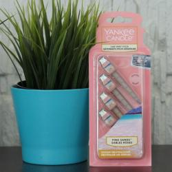Pink Sands, zapach samochodowy Yankee Candle, car vent stick, patyczki do kratki wywiewu,