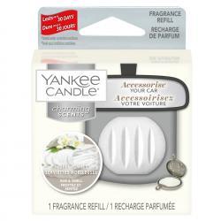 Wkład, uzupełniacz o zapachu Fluffy Towels, do zestawu samochodowego Charming Scents z Yankee Candle.