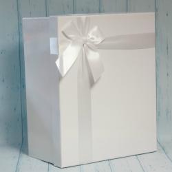 Pudełko prezentowe białe 36/29/17cm