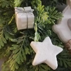 Wianek świąteczny, renifer