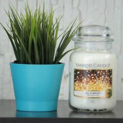 All is bright duża świeca Yankee Candle