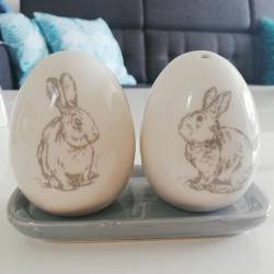 Solniczka, pieprzeczka 2 jajka