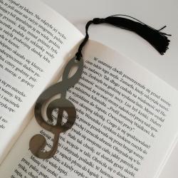Klucz wiolinowy, zakładka do książki