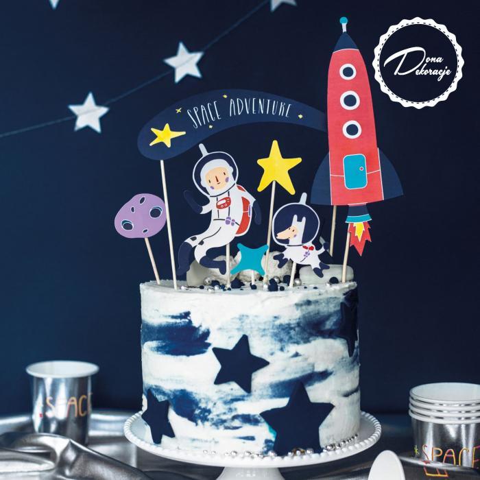Toppery na tort, Kosmos