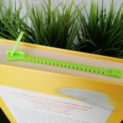 Zakładka do książki, suwak zielony