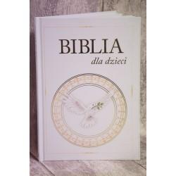 BIBLIA DLA DZIECI Z GOŁĘBICĄ
